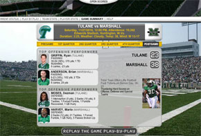 game tracker marshall university athletics