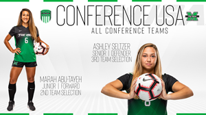 Marah Abu-Tayeh and Ashley Seltzer All-Conference